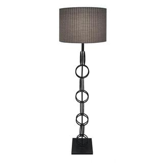 Hand Rubbed Bronze Finish Designer 61-inch Floor Lamp