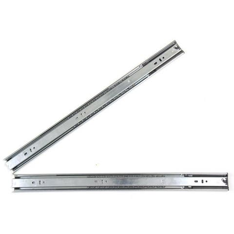22-inch Hydraulic Soft Close Full Extension Drawer Slides (Pack of 10 pairs)