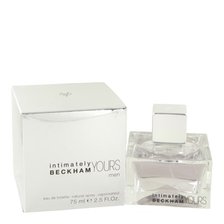 David Beckham Intimately Beckham Yours Men's 2.5-ounce Eau de Toilette Spray