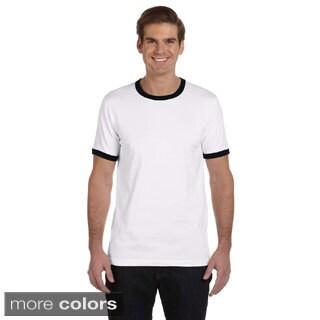 Canvas Men's Heather Ringer Jersey T-shirt