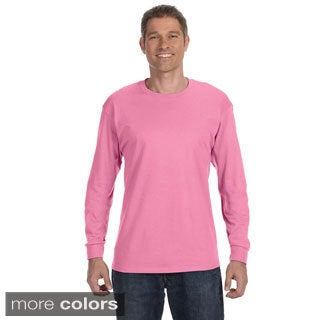 Jerzees Men's 50/50 Heavyweight Blend Long Sleeve T-shirt