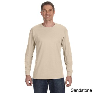 Jerzees Men's 50/50 Heavyweight Blend Long Sleeve T-shirt (More options available)