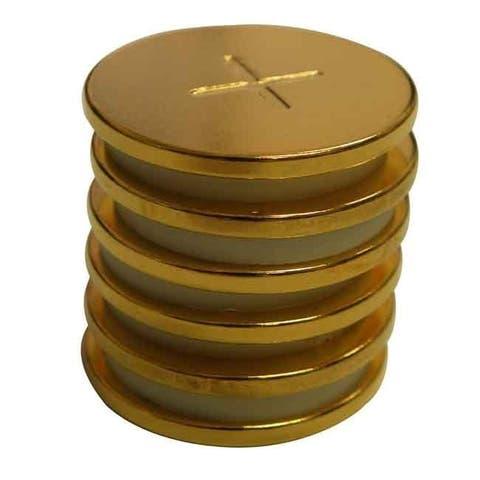 Neodymium 1-inch x 2mm Spot Magnets (Pack of 6)