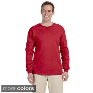 Jerzees Men's 'HiDENSI-T' Long Sleeve Solid T-Shirt