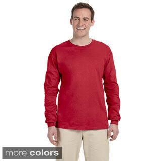 Jerzees Men's 'HiDENSI-T' Long Sleeve Solid T-Shirt|https://ak1.ostkcdn.com/images/products/8979344/Jerzees-Mens-HiDENSI-T-Long-Sleeve-Solid-T-Shirt-P16186499.jpg?impolicy=medium