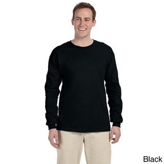 Jerzees Men's 'HiDENSI-T' Long Sleeve Solid T-Shirt