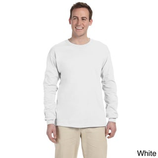Jerzees Men's 'HiDENSI-T' Long Sleeve Solid T-Shirt (More options available)