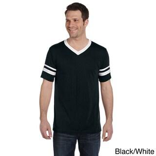 Augusta Sportswear Men's Sleeve-stripe Jersey Tee