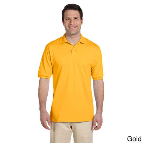 Jerzees Men's 50/50 SpotShield Cotton and Polyester Jersey Polo Shirt