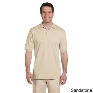 Jerzees Men's 50/50 SpotSheild Jersey Polo Shirt