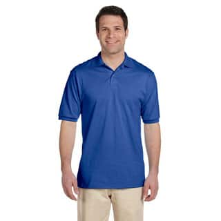 Jerzees Men's 50/50 SpotSheild Jersey Polo Shirt|https://ak1.ostkcdn.com/images/products/8979364/P16186505.jpg?impolicy=medium