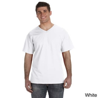 Link to Fruit of the Loom Men's Heavyweight Cotton V-neck T-shirt Similar Items in Shirts