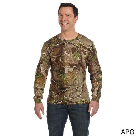 Code V Men's Camouflage Long Sleeve T-shirt