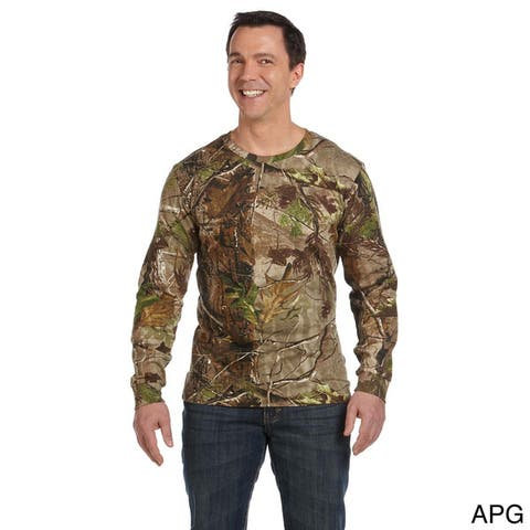 Code V Men's Camouflage Long Sleeve T-shirt