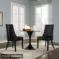 Noblesse Vinyl Dining Chair (Set of 2)