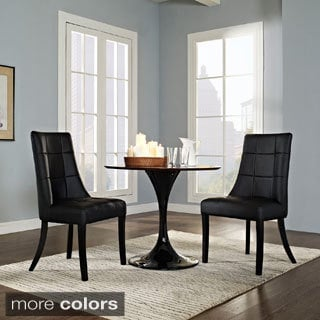 Noblesse Vinyl Dining Chair (Set Of 2) (2 Options Available)