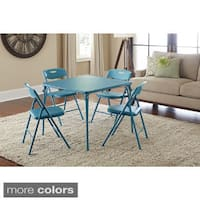 Shop Cosco Kid S 5 Piece Colored Folding Chair And Table
