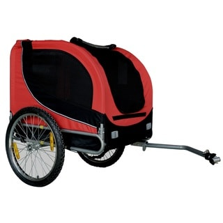Comfy Collapsible Pet Bike Trailer with Bike Hitch