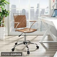 Shop Silver Orchid Lee Adjustable Height Office Chair In