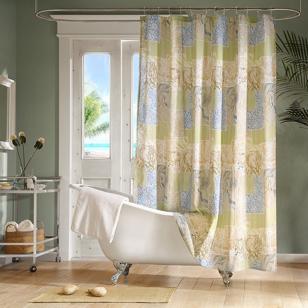 Madison Park Bayside Shower Curtain - Free Shipping On Orders Over ...