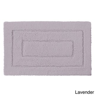 Luxorious Cotton Brights Collection 20 x 32-inch Bath Rug (Option: Lavender)