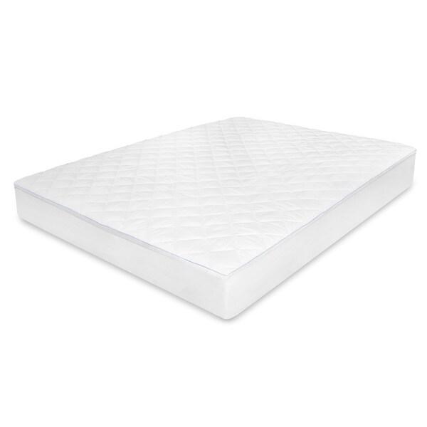 SwissLux Washable Euro Top Memory Foam Mattress Pad Free