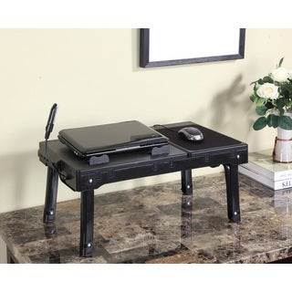 Multifunctional Laptop Table Stand with Cooling Fan and USB Ports