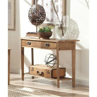 Alaterre Heritage Reclaimed Wood Console Table. Reclaimed Wood  Console Tables For Less   Overstock com