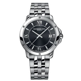 Raymond Weil Men's 'Tango' Grey Dial Stainless Steel Watch