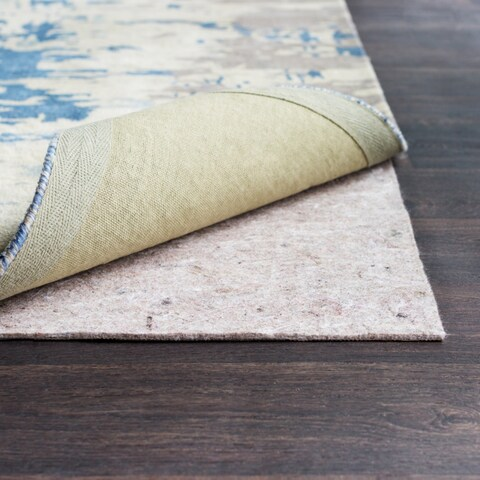Felted Synthetic Superior Premium Reversible Dual Surface Nonslip Rug Pad - 2' x 12'