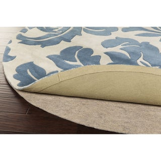 Overstock Premium Felted Reversible Dual Surface Non-slip Rug Pad (5' Round)