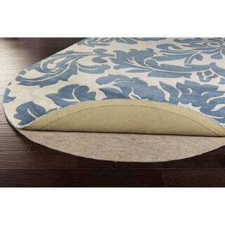 Overstock Premium Felted Reversible Dual Surface Non-slip Oval Rug Pad (6' x 9')