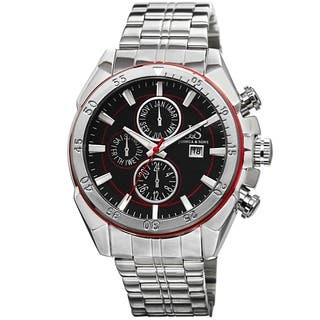 Joshua & Sons Men's Swiss Quartz Multifunction Stainless Steel Red Bracelet Watch with FREE GIFT https://ak1.ostkcdn.com/images/products/8983217/P16189653.jpg?impolicy=medium