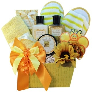 Queen Bee Honey Spa Bath and Body Gift Basket - queen-bee-spa