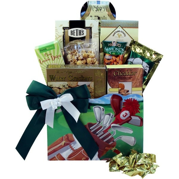 Discontinued~Golfers Delights Gourmet Snacking Box