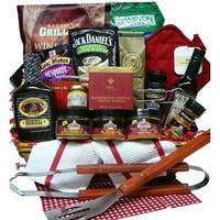 Grilling Creations Spice it Up Right BBQ Sauce & Fixins' Gift Basket