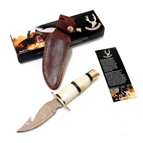 Bone Edge 9-inch Bone Handle Hunting Skinner Knife