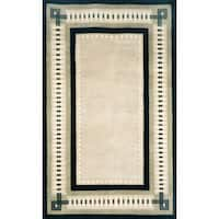 Column Border Indoor Rug (5'X8') - 5' x 8'