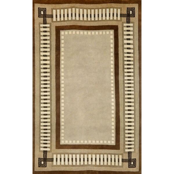 Liora Manne Column Border Indoor Rug (3'6X5'6) - 3'6 x 5'6