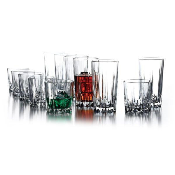 Florence 12-piece Glassware Set
