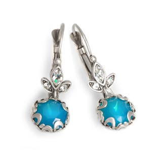 Sweet Romance Cushion Cut Antique Crystal Earrings|https://ak1.ostkcdn.com/images/products/8983766/P16190097.jpg?impolicy=medium