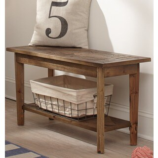 Alaterre Heritage Reclaimed Wood Bench