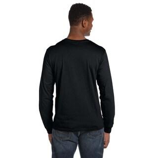 Anvil Men's Ringspun Long Sleeve T-shirt