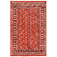 Herat Oriental Pakistani Hand-knotted Bokhara Wool Rug (5'2 x 7'11) - 5'2 x 7'11