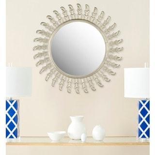 Safavieh Handmade Inca Pewter 32-inch Sunburst Mirror
