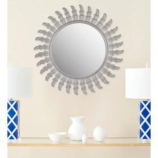 Safavieh Handmade Inca Grey 32-inch Sunburst Mirror