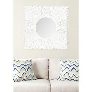 Safavieh Acanthus White 28-inch Mirror