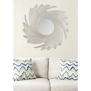 Safavieh Nouveau Wave Pewter Mirror