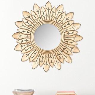 Safavieh King Gold 30-inch Sunburst Mirror