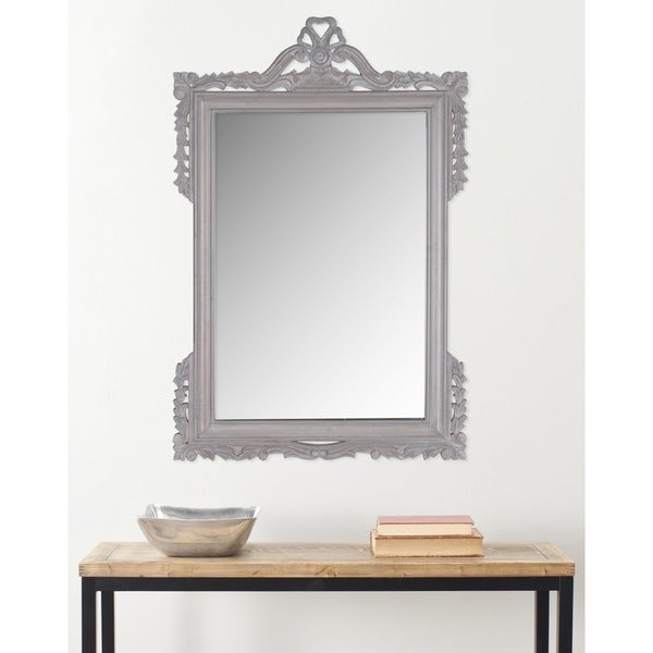 Safavieh Pedimint Grey 31 x 47-inch Rectangular Mirror